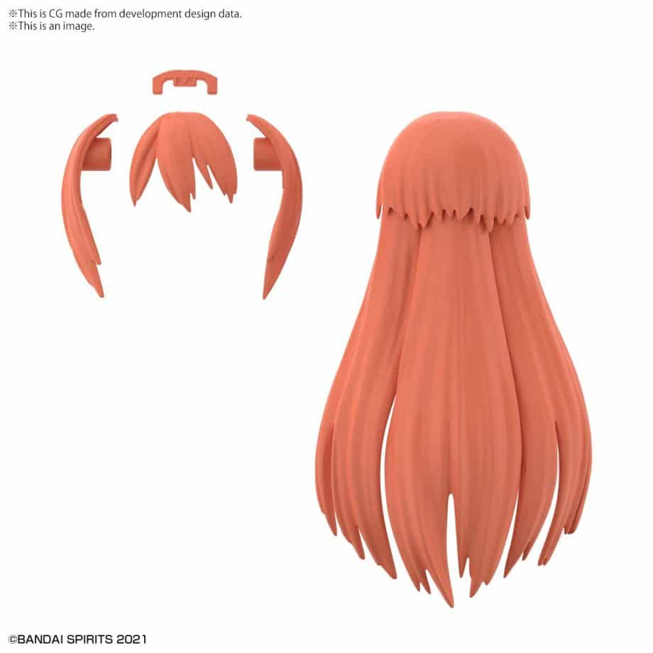 Option Hair Style Parts Volume 3 Red 2