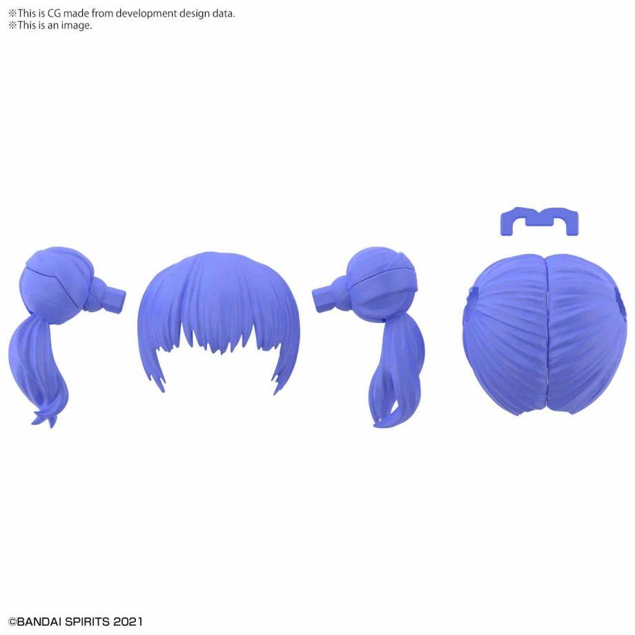 Option Hair Style Parts Volume 3 Blue 2