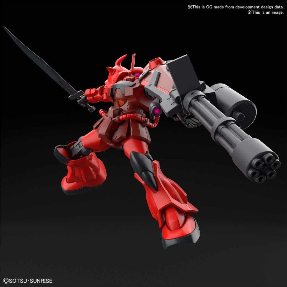 High Grade Gouf Crimson Custom Pose 4