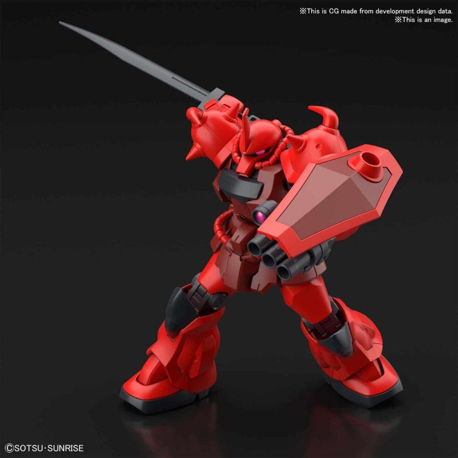 High Grade Gouf Crimson Custom Pose 6