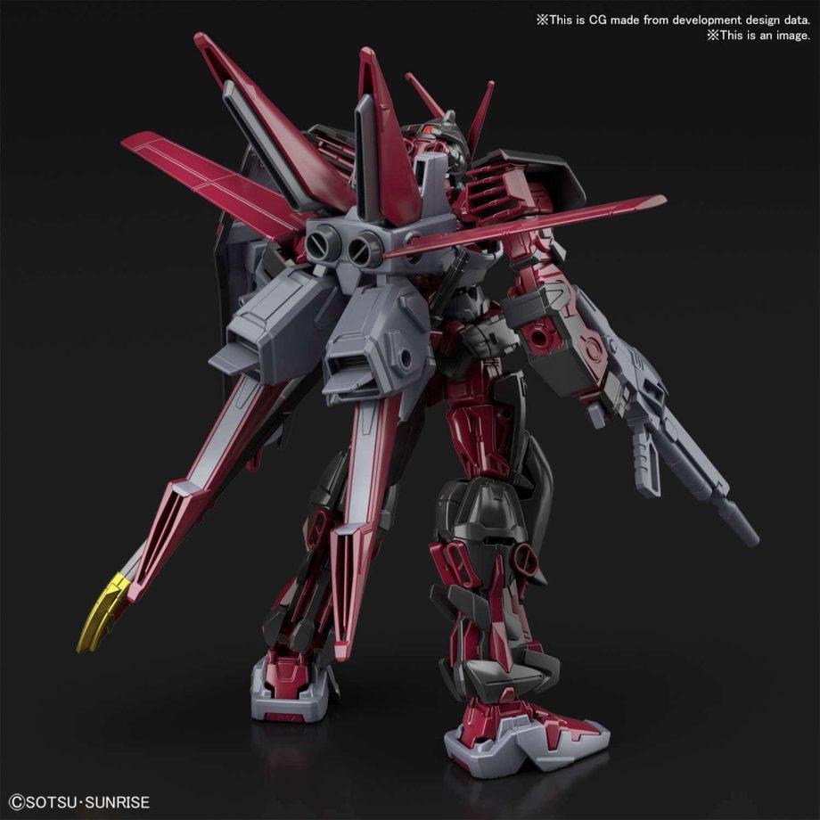 High Grade Gundam Astray Red Frame Inversion Pose 2