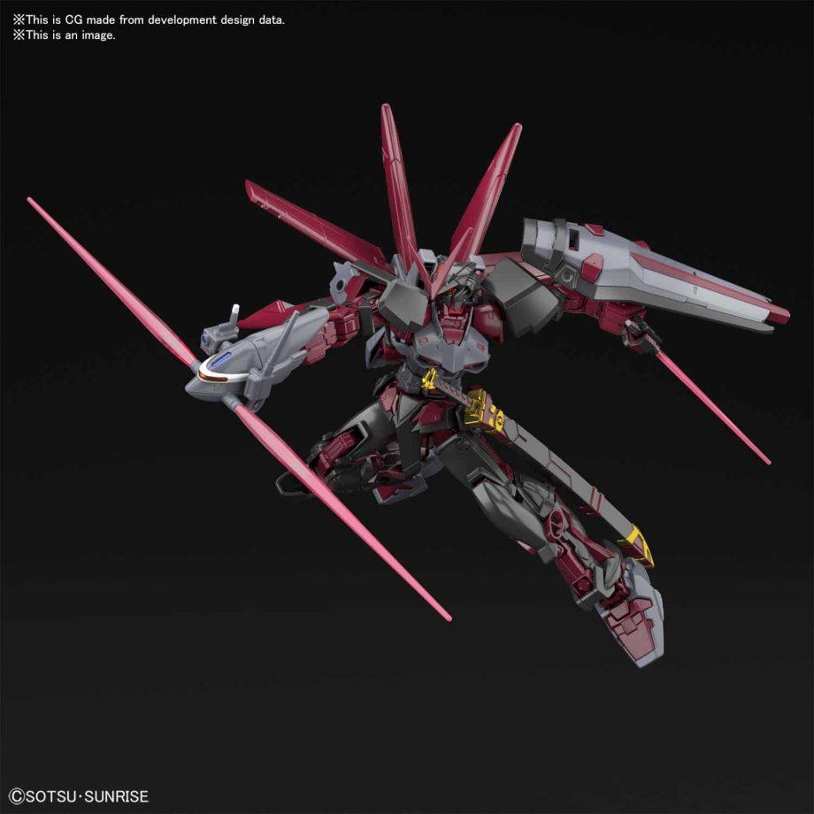 High Grade Gundam Astray Red Frame Inversion Pose 4