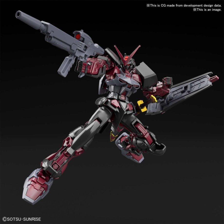 High Grade Gundam Astray Red Frame Inversion Pose 5