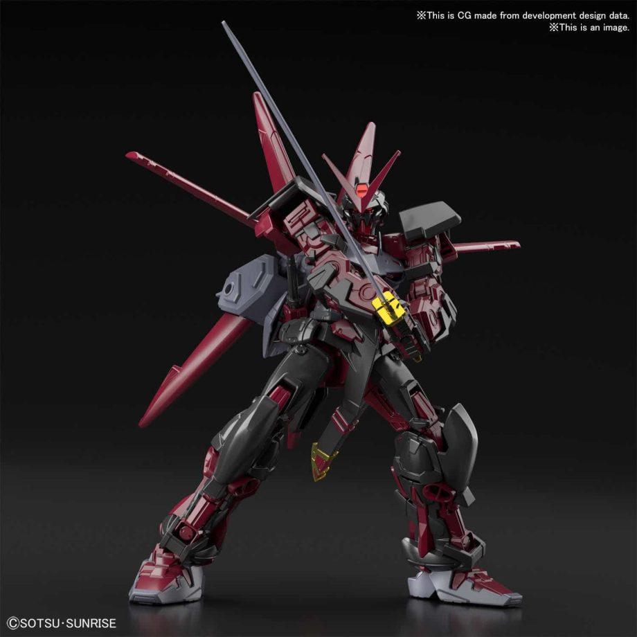 High Grade Gundam Astray Red Frame Inversion Pose 6