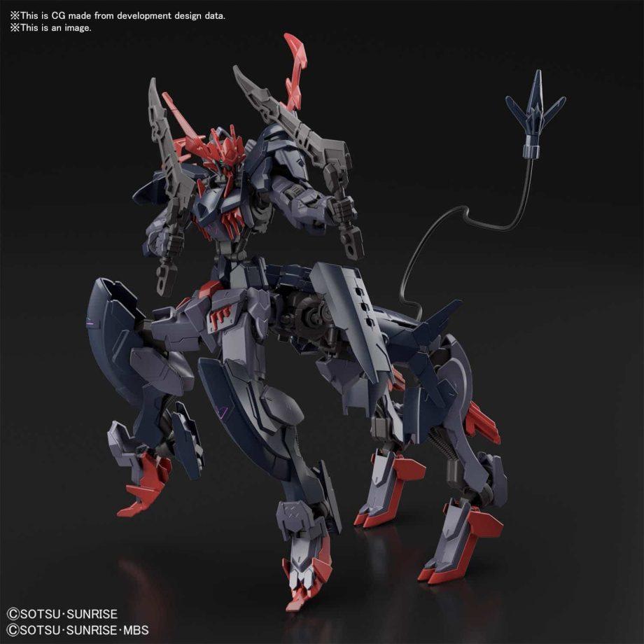 High Grade Gundam Barbataurus Pose 6