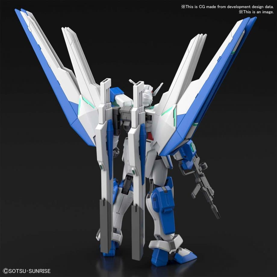 High Grade Gundam Helios Pose 2