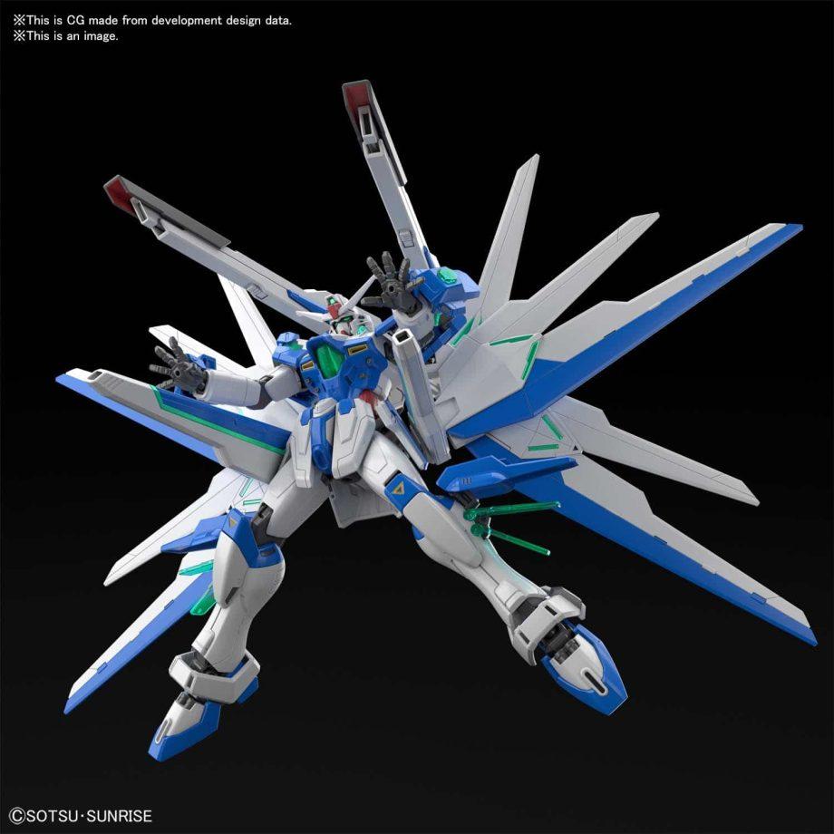 High Grade Gundam Helios Pose 4