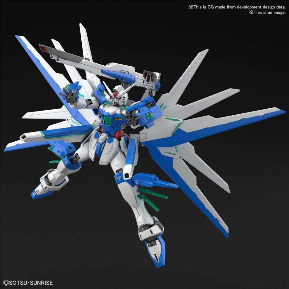 High Grade Gundam Helios Pose 5