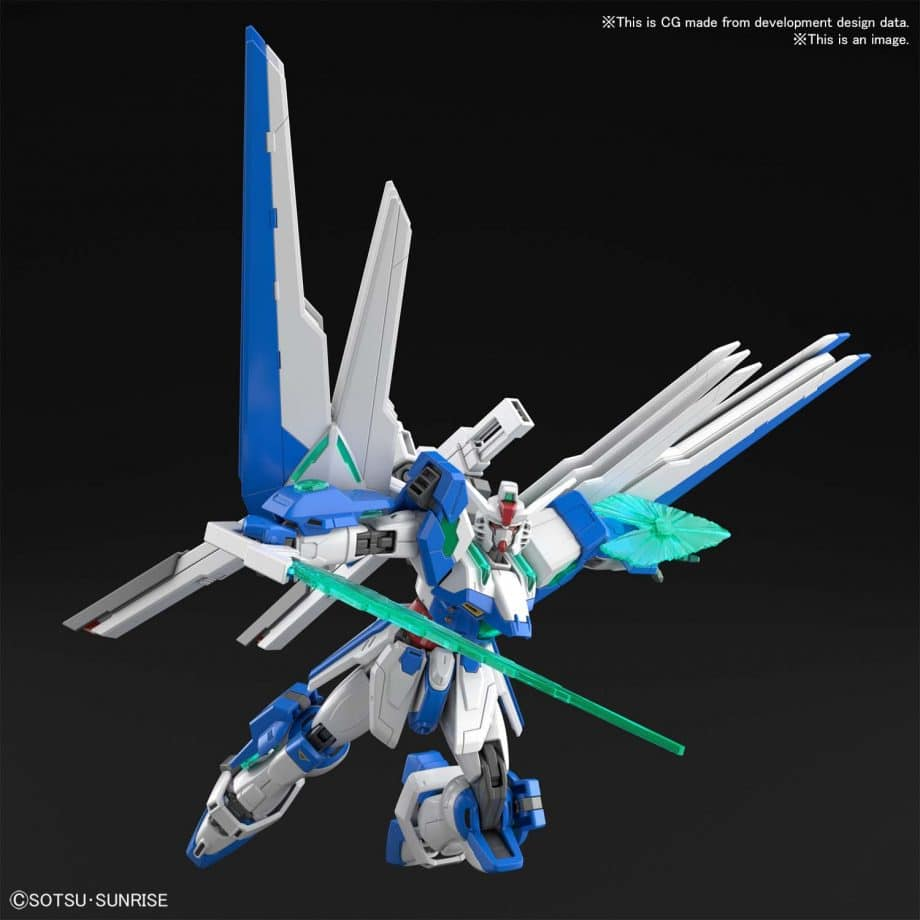 High Grade Gundam Helios Pose 6