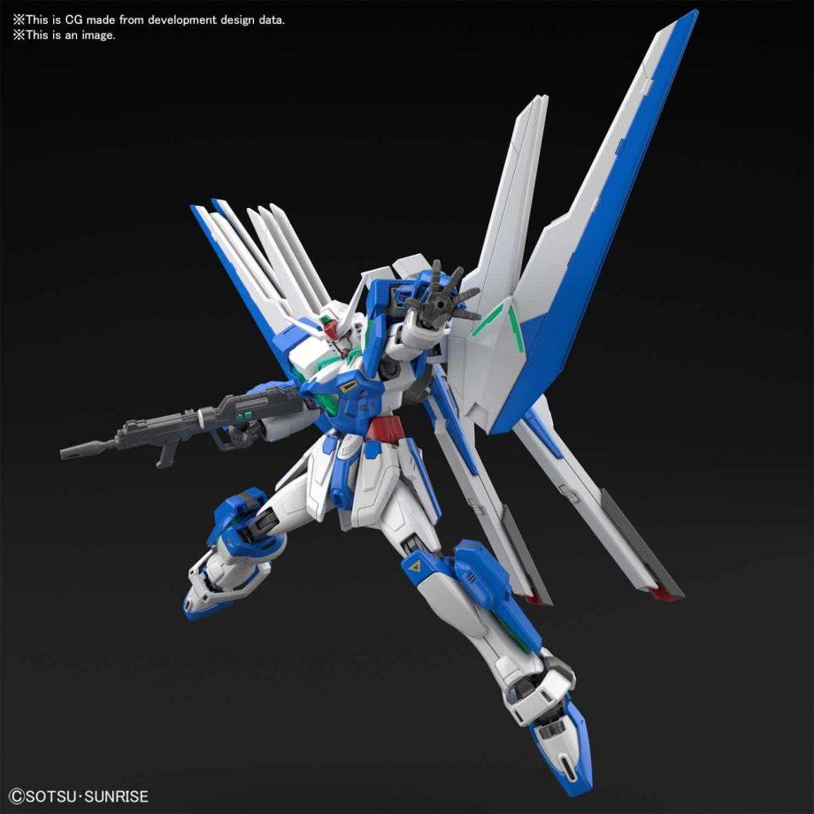 High Grade Gundam Helios Pose 7