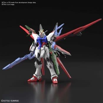 High Grade Gundam Perfect Strike Freedom Pose 1