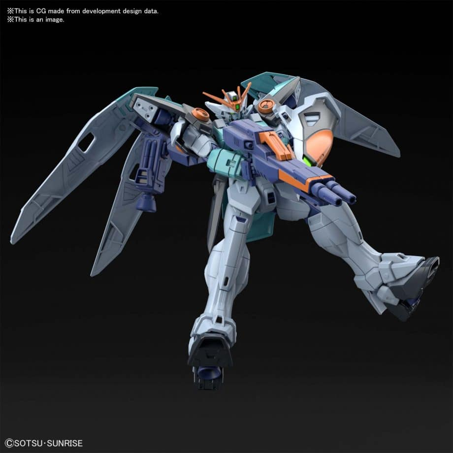 Wing Gundam Sky Zero Pose 5