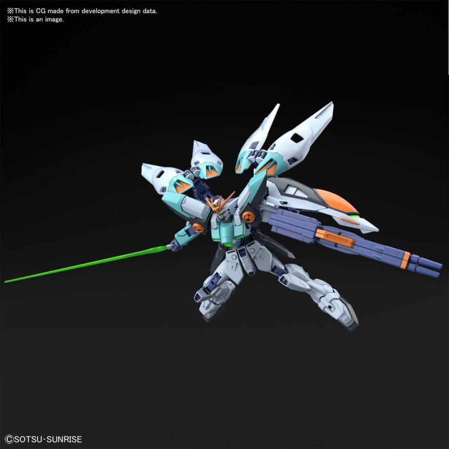 Wing Gundam Sky Zero Pose 7