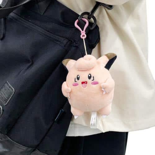 Pokemon Clefairy Plushie Keychain