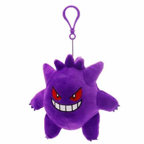 Pokemon Gengar Plushie Keychain