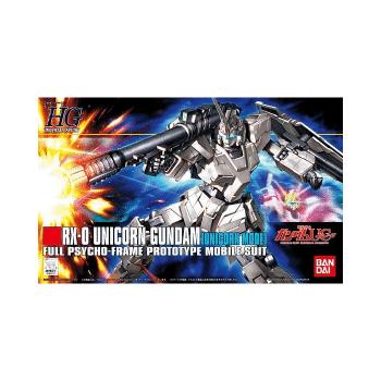 High Grade RX-0 Unicorn Gundam Unicorn Mode Box