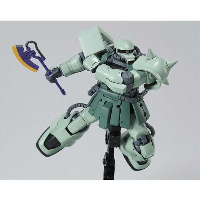 High Grade MS-06F-2 Zaku F2 Pose 6