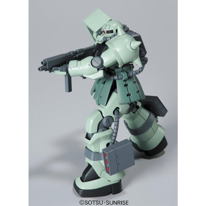 High Grade MS-06F-2 Zaku F2 Pose 7