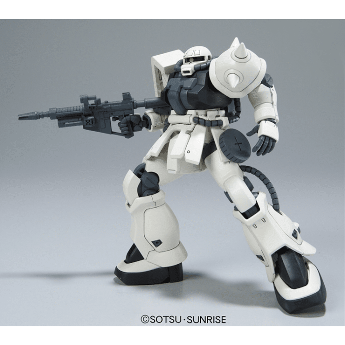 High Grade MS-06F-2 Zaku F2 Earth Federation Type Pose 6