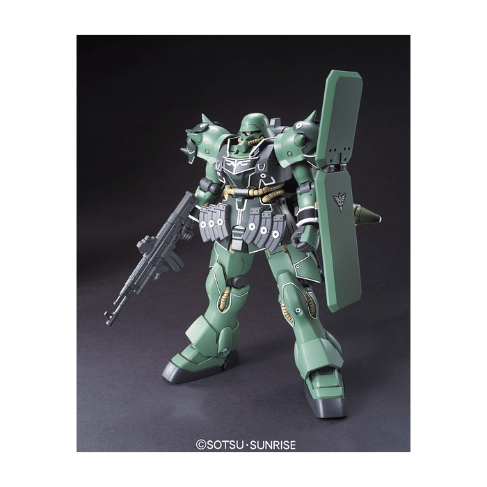High Grade AMS-129 Geara Zulu Guards Type Pose 1