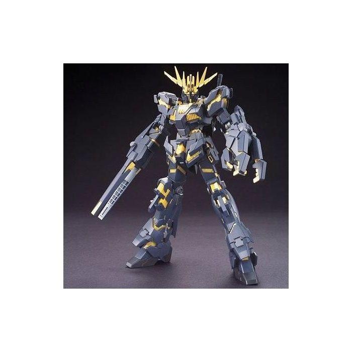 High Grade RX-0 Unicorn Gundam 02 Banshee Destroy Mode Pose 1