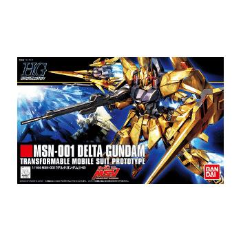 High Grade MSN-001 Delta Gunam Box