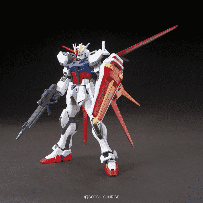 High Grade Aile Strike Gundam Pose 1