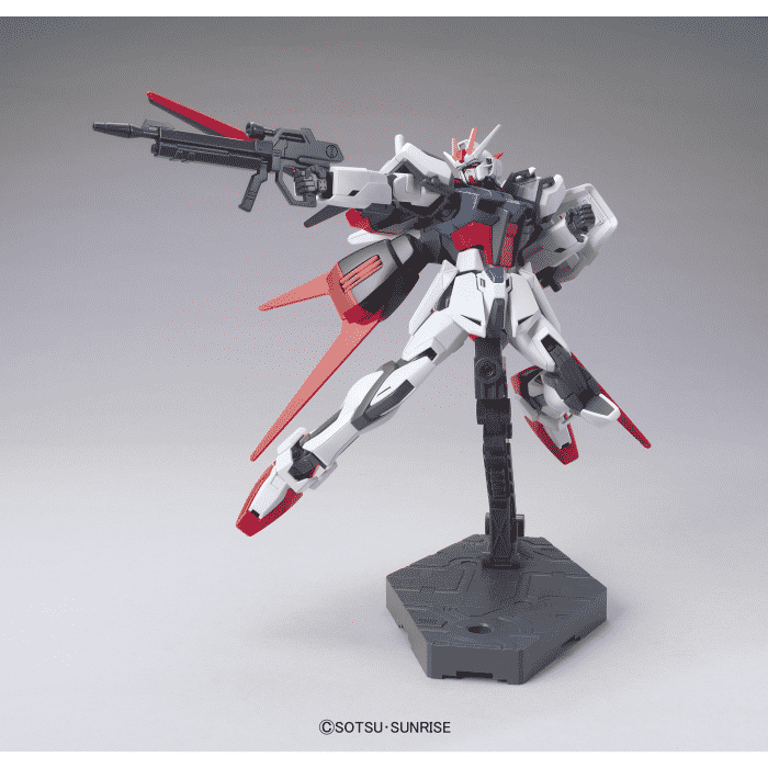 High Grade Aile Strike Gundam Pose 2