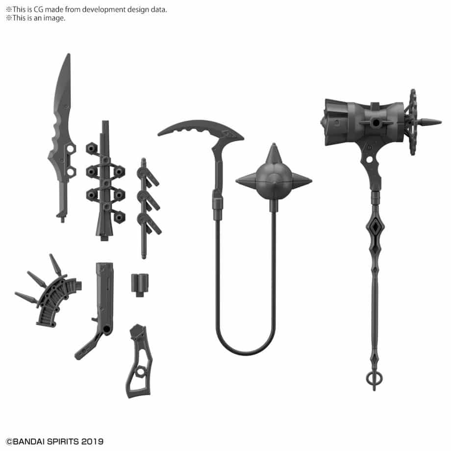 Customize Weapons Fantasy Weapon Pose 2