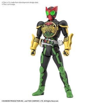Kamen Rider OOO Tatoba Combo Figure-Rise Standard Pose 1