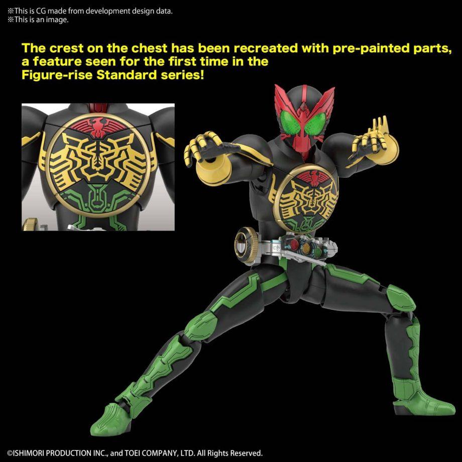 Kamen Rider OOO Tatoba Combo Figure-Rise Standard Pose 3