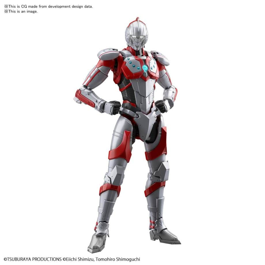 Ultraman Suit Zoffy Action Figure-rise Standard Pose 1