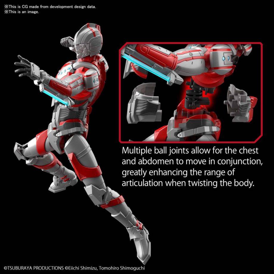 Ultraman Suit Zoffy Action Figure-rise Standard Pose 2