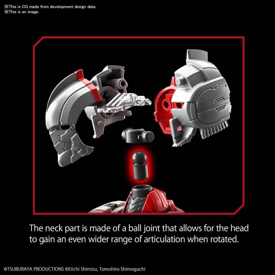 Ultraman Suit Zoffy Action Figure-rise Standard Pose 4