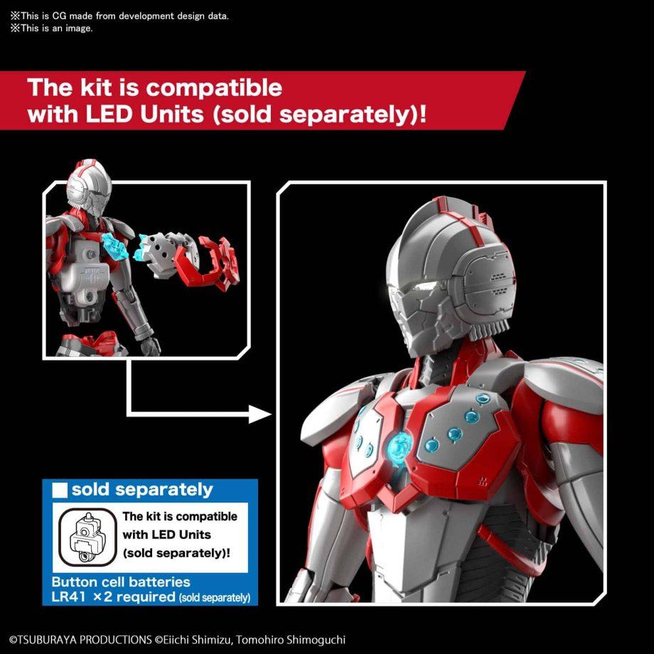 Ultraman Suit Zoffy Action Figure-rise Standard Pose 5