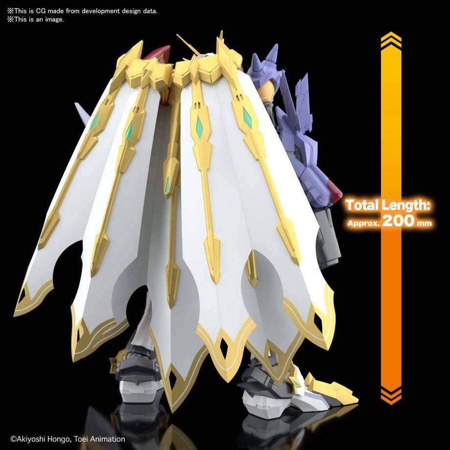 Omegamon X-Antibody Figure-Rise Standard Amplified Pose 3