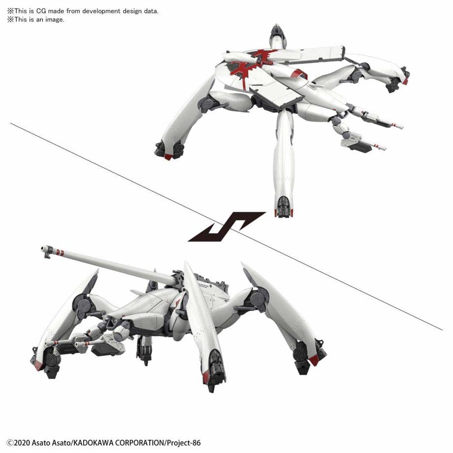 High Grade Reginleif General Purpose Type/Autocannon Type Pose 7