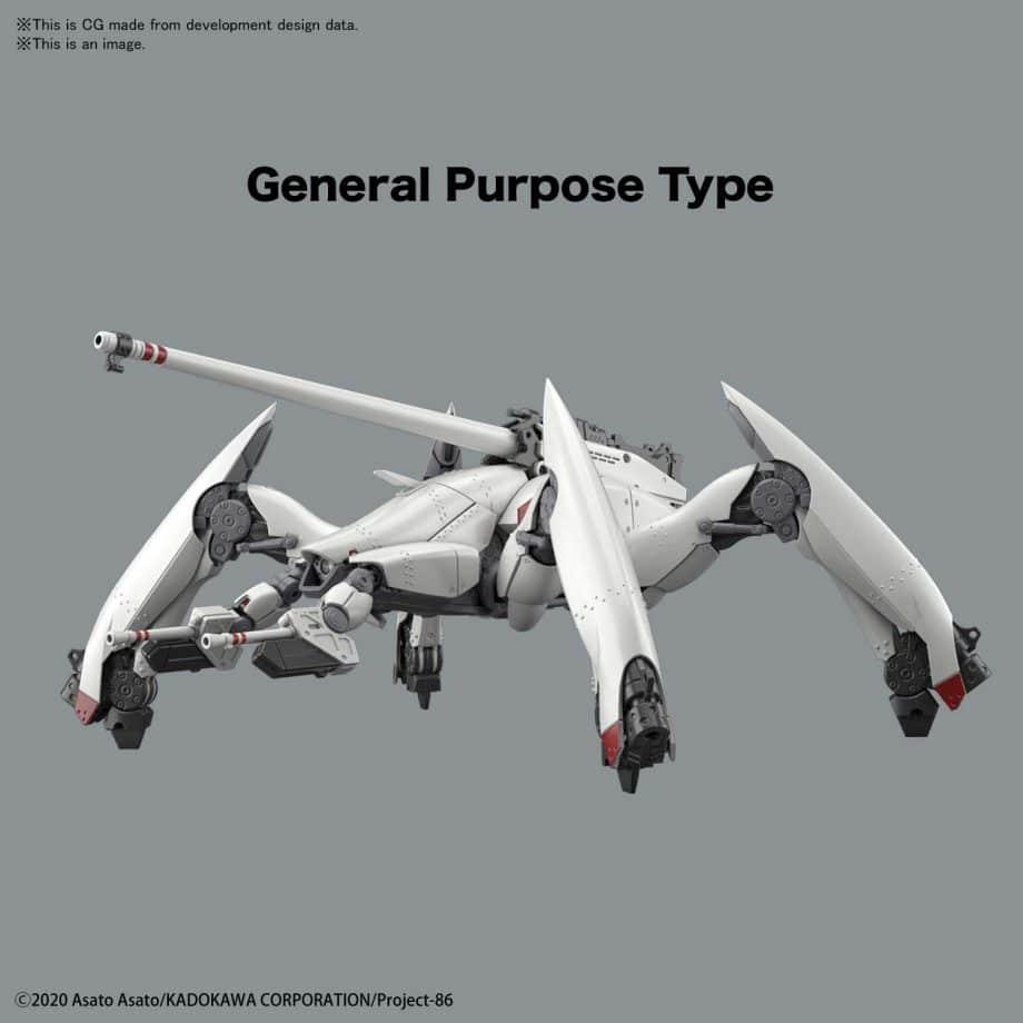 High Grade Reginleif General Purpose Type/Autocannon Type Pose 1