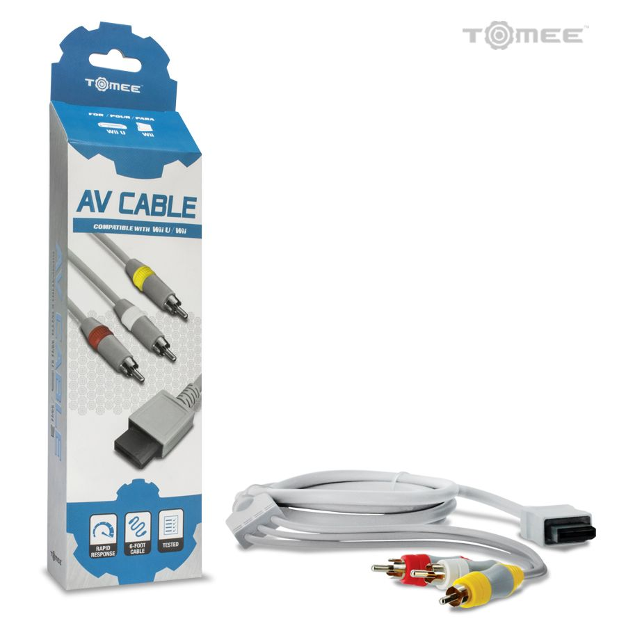 AV Cable For Nintendo Wii and Wii U