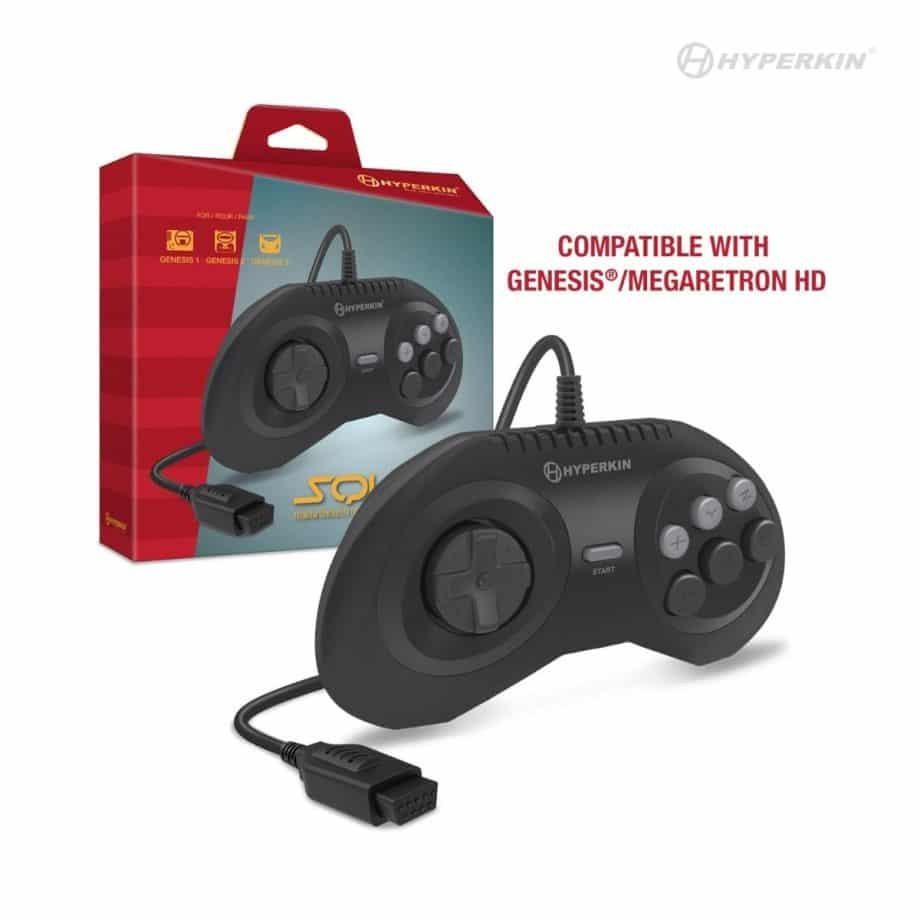 Squire Premium Controller for Sega Genesis