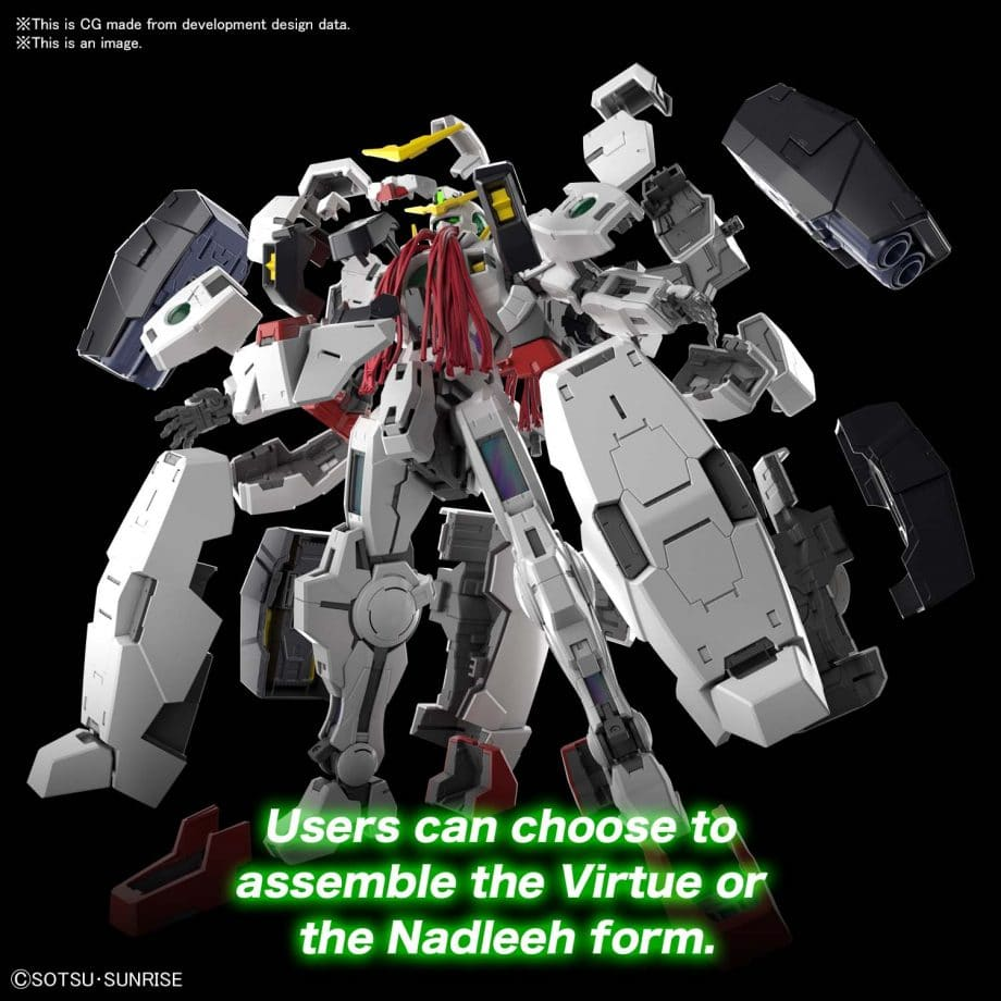 Master Grade Gundam Virtue Pose 5