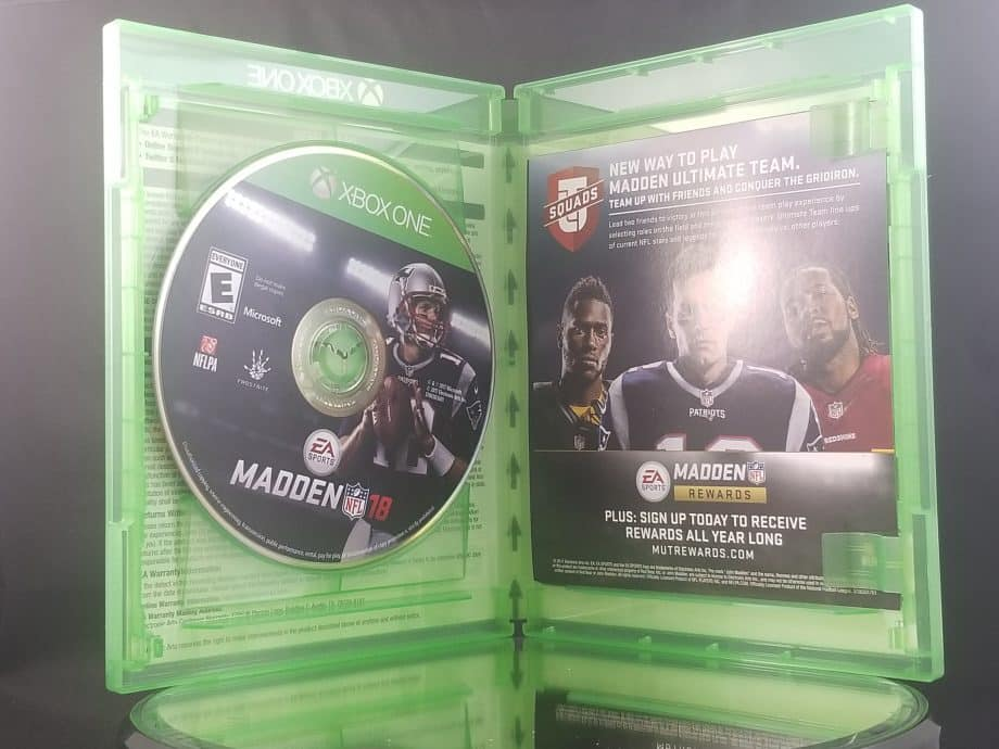 Madden NFL 18 Disc