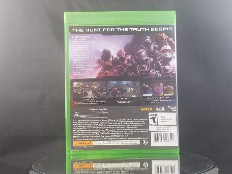 Halo 5 Guardians Back