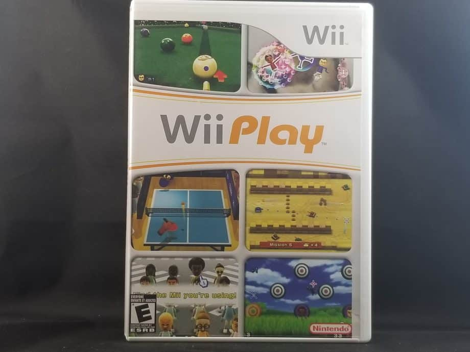 Wii Play Front