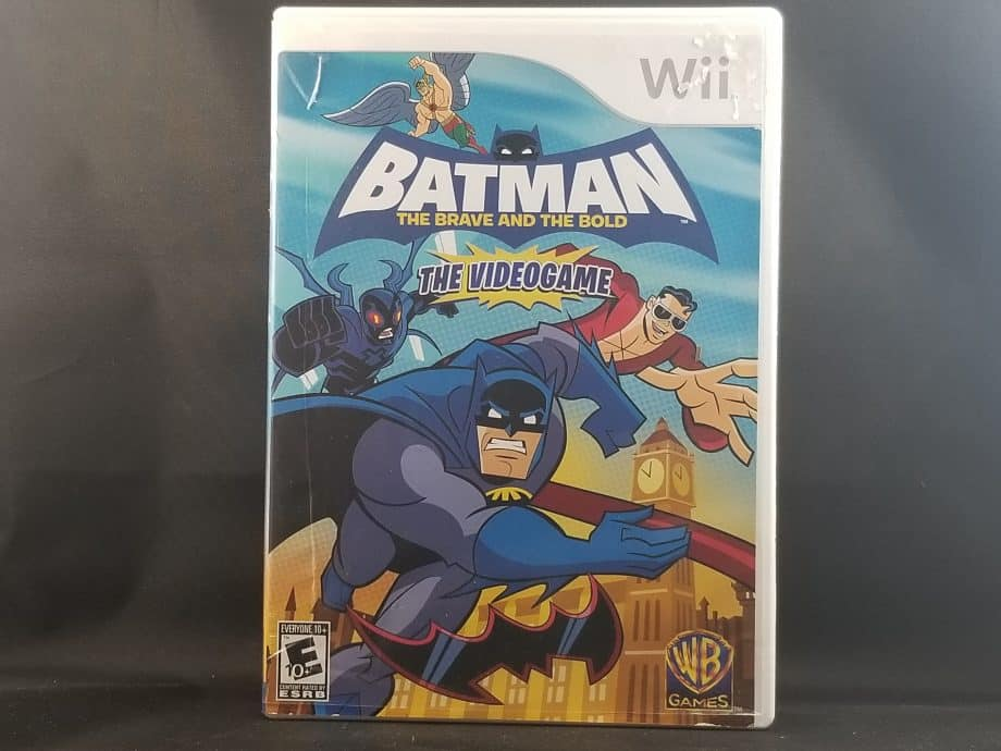 Batman The Brave And The Bold Front