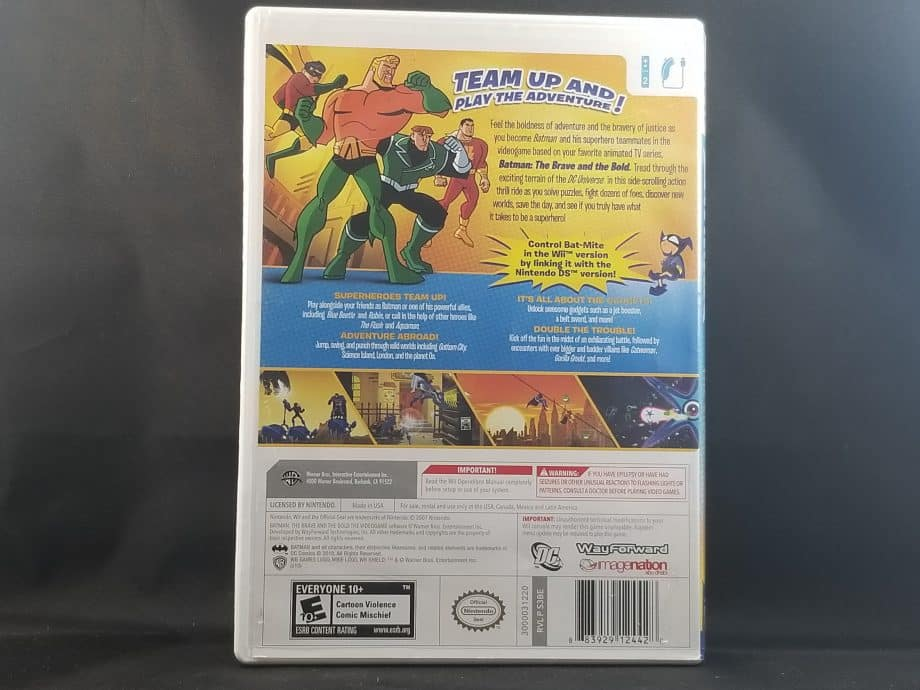 Batman The Brave And The Bold Back
