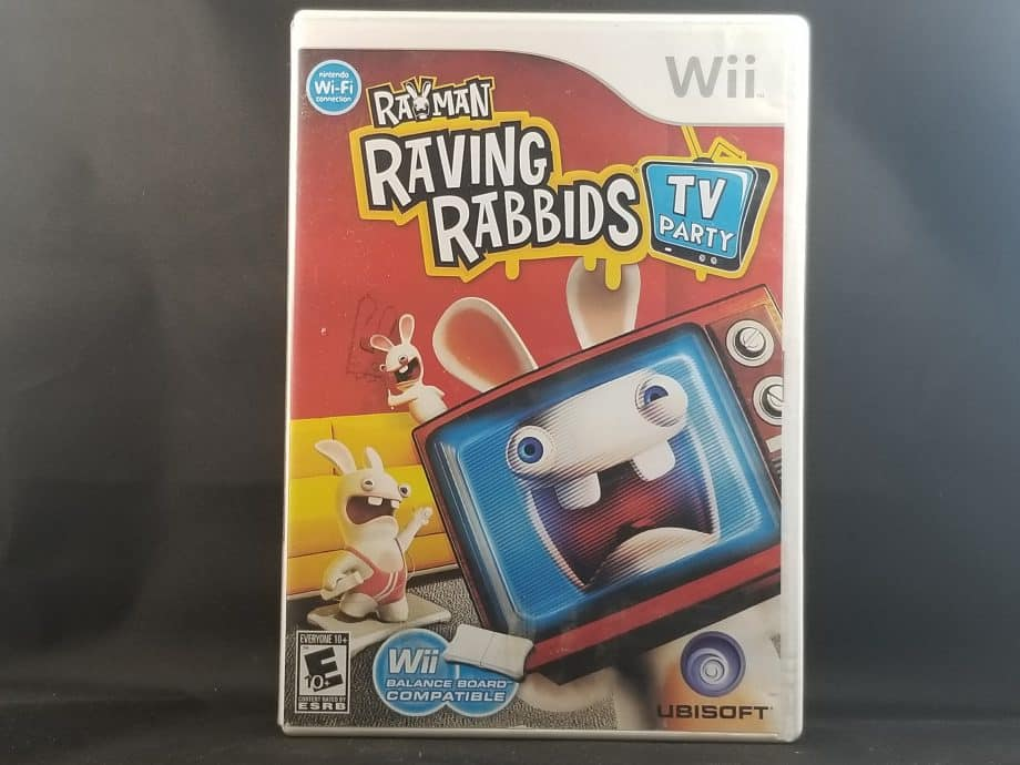 Rayman Raving Rabbids TV Party Front