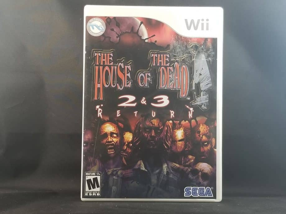 The House Of The Dead 2 & 3 Return Front