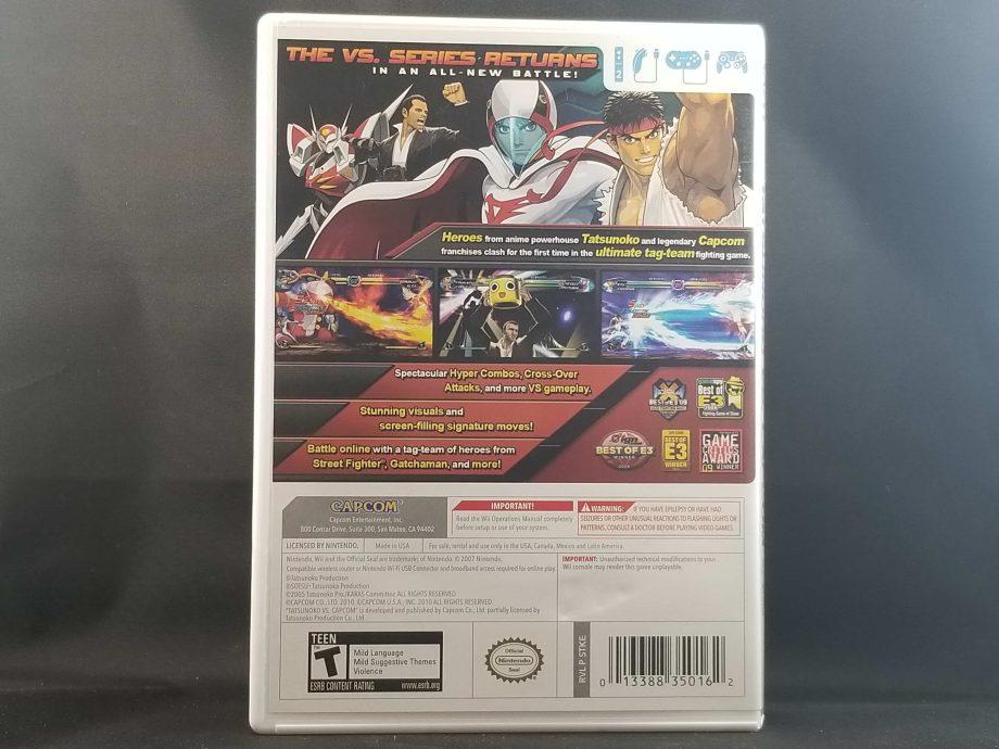 Tatsunoko VS. Capcom Ultimate All Stars Back