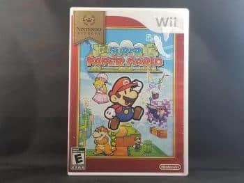 Super Paper Mario Front